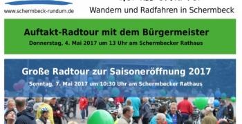 Auftakt-Radtour mit dem Bürgermeister