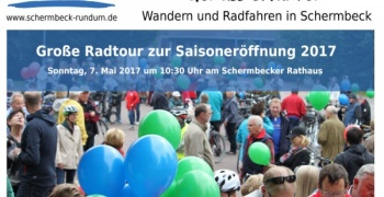 SCHERMBECK.RUNDUM: Große Radtour zur Saison-Eröffnung 2017