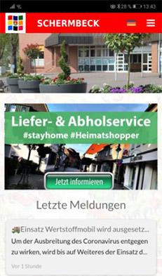 Schermbeck.app