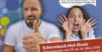SCHERMBECK DEALS startet mit 70 Anbietern in Hot-Deals-Aktionswoche