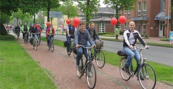 Dritter Saisonstart der Genuss-Fahrradroute / Großer Andrang