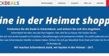"""Einladung zu einem gemeinsamen Unternehmerlunch Vorstellung der neuen Online-Plattform: """"Schermbeck Deals"""""""