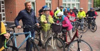 Radfahren mit dem Schermbecker Bürgermeister – eine besondere Führung