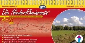 Neuauflage der Radwanderkarte zur Niederrheinroute